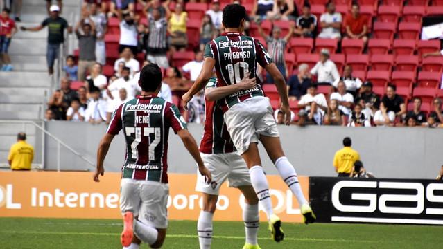 Fluminense vence Corinthians e escapa da zona de rebaixamento - Crédito: MAILSON SANTANA/FLUMINENSE FC
