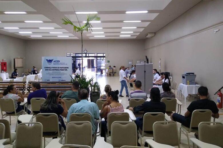 Dia D da Campanha Saindo do Sufoco foi realizada no auditório da Aced - Crédito: Divulgação
