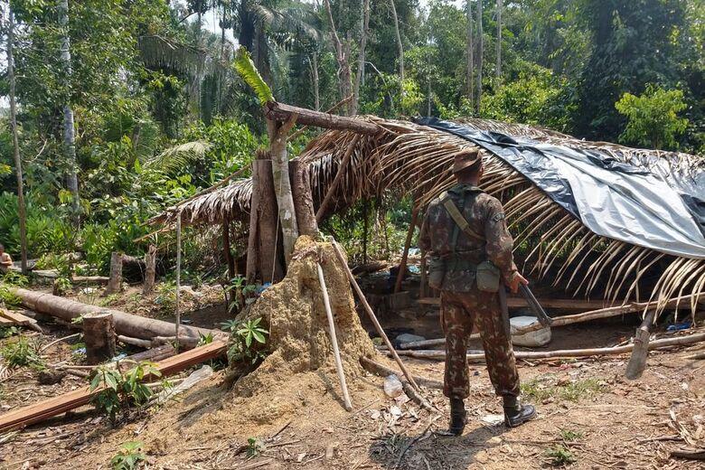 Operação combate crimes ambientais e queimadas na Amazônia - Crédito: Op VERDE BRASIL/17