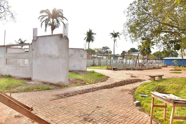 Nova etapa prevê reforma da biblioteca, construção de capela e revitalização do monumento - Crédito: Marcos Ribeiro