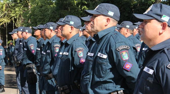 Governo publica 850 promoções das polícias nesta terça-feira - Crédito: Divulgação