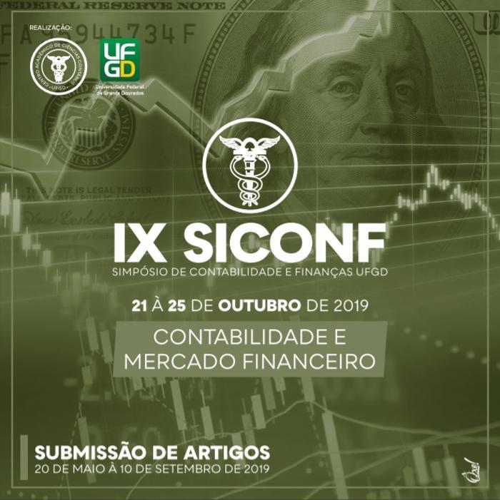 Simpósio de Contabilidade e Finanças da UFGD acontece de 21 a 25 de outubro - Crédito: Divulgação