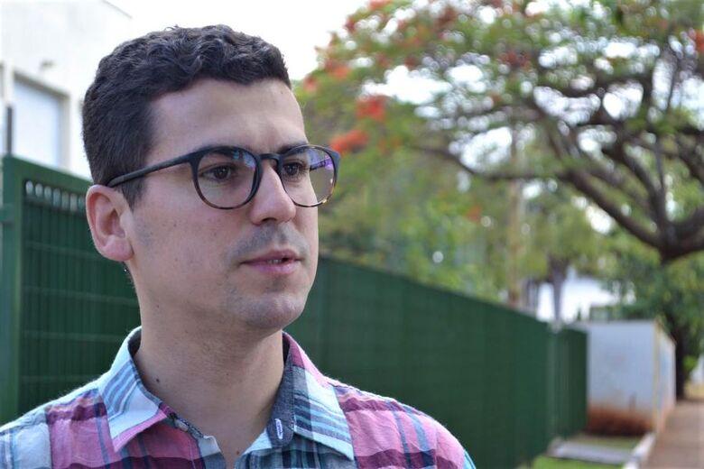 Alex Dias de Jesus é doutorando no Programa de Pós-graduação em Geografia da UFGD - Crédito: Divulgação