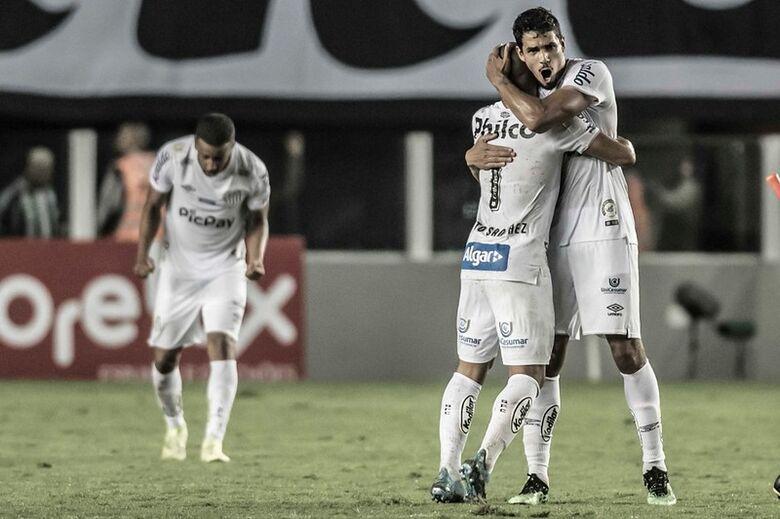 Santos vence clássico contra Palmeiras e assume a vice-liderança - Crédito: Ivan Storti/Santos FC