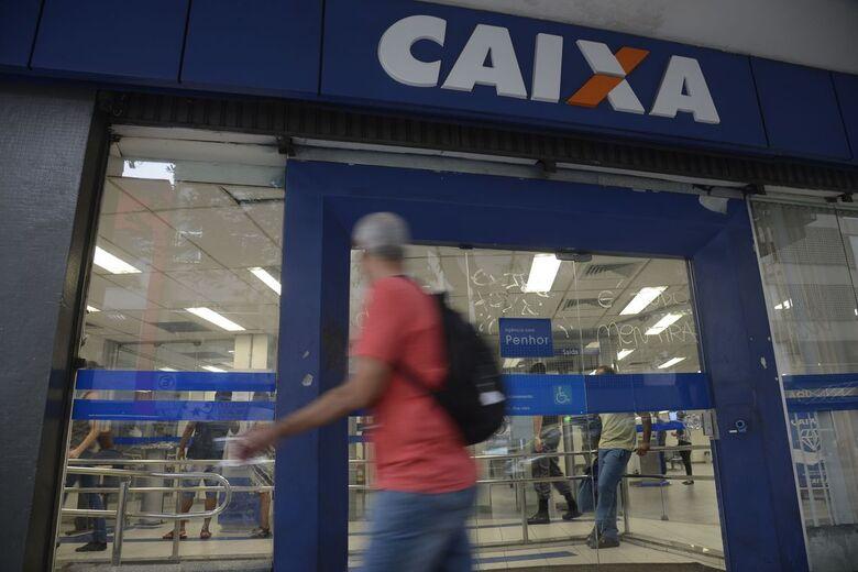 Agências da Caixa abrem neste sábado para saque do FGTS - Crédito: Divulgação
