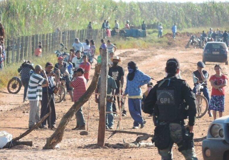 Em Caarapó, o conflito entre índios da etnia Guarani Kaiowá foi acirrado a partir de junho de 2016 - Crédito: Divulgação