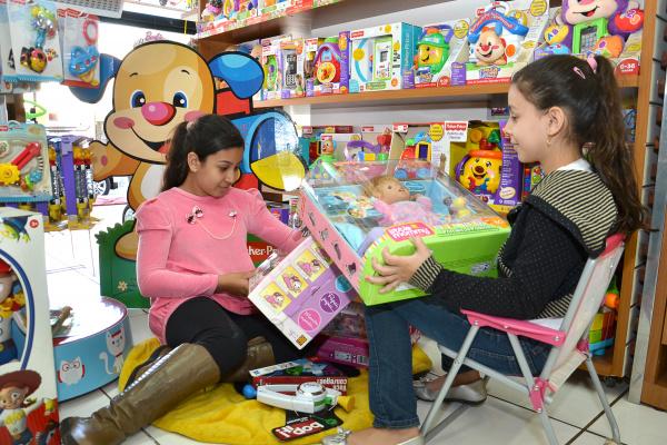 Pesquisa aponta que Dourados pode movimentar R$ 8,1 mi nas vendas para o Dia das Crianças -