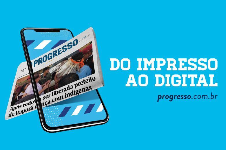 Jornal O Progresso 100% digital - Crédito: Pedro Rocha