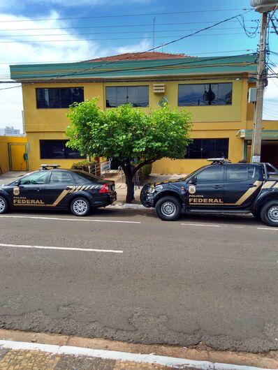 Pelo menos 70 policiais federais estão nas ruas nas cidades de Campo Grande, Corumbá, Terenos, Bodoquena e Caracol - Crédito: Divulgação