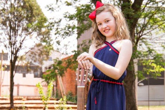 Aluna da Escola do Sesi de Dourados é finalista do 5º Festival de Música Escolar Morena - Crédito: Divulgação