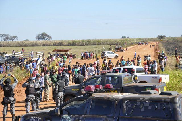 Delegados são investigados no conflito, em Caarapó, em 2016 -