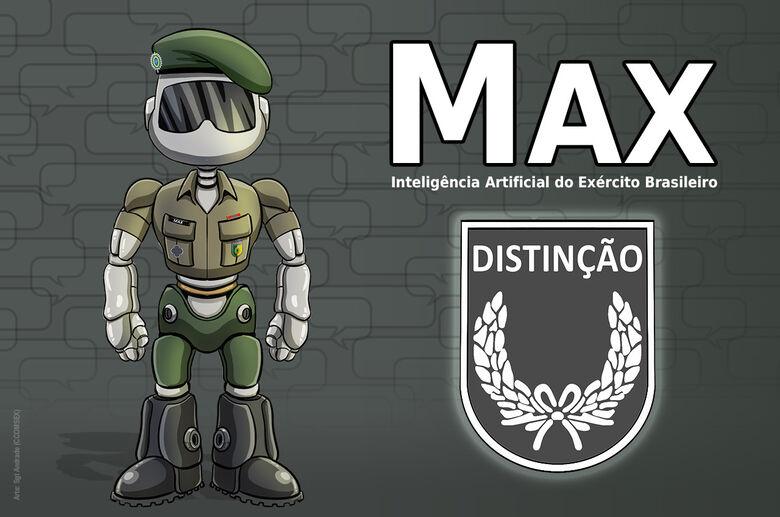 Max, a inteligência artificial do Exército, recebe medalha e novo avatar -