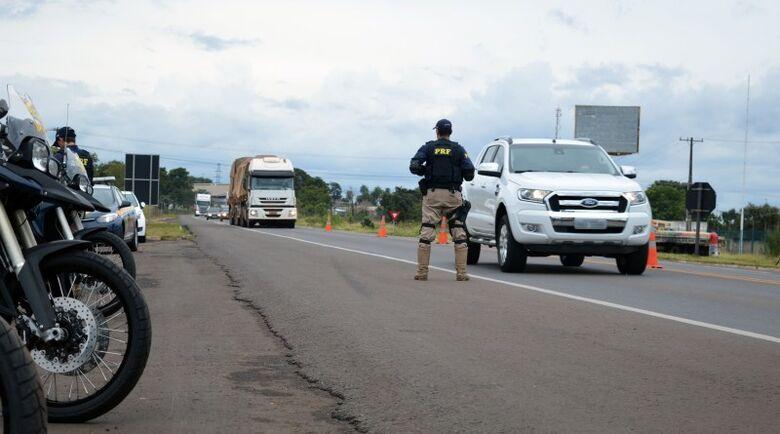 """""""Segurança e prevenção de acidentes"""" são metas da PRF no feriado em MS - Crédito: Divulgação/PRF"""