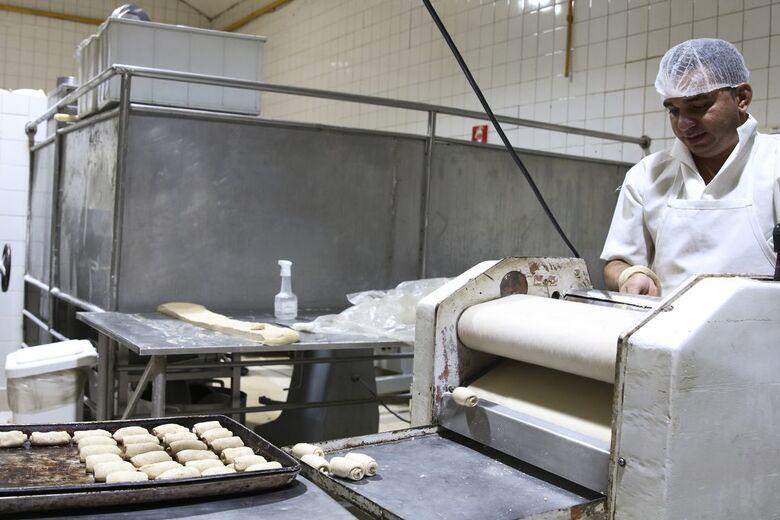 O pão é um dos alimentos mais tradicionais em todo o mundo. - Crédito: Agência Brasil