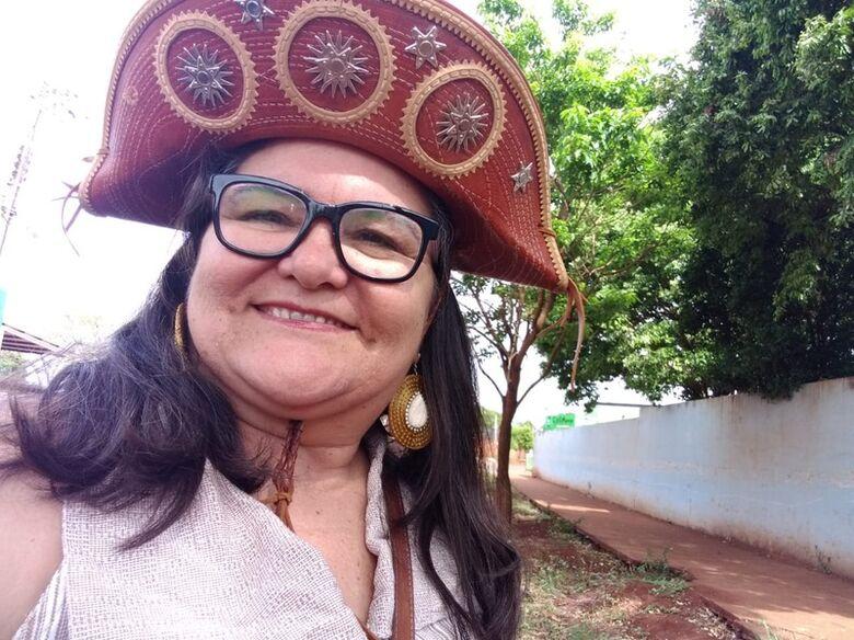 A professora aposentada Aurineide Alencar de Freitas Oliveira, - Crédito: Arquivo pessoal