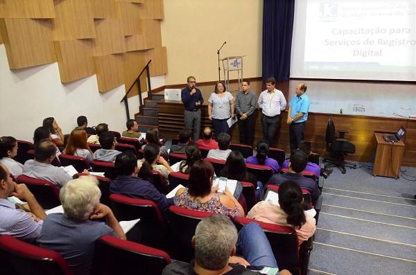 Lançamento da Jucems Digital na sede do Sebrae: iniciativa facilita vida de quem quer abrir um negócio em MS - Crédito: Sebrae
