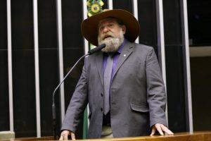deputado Nelson Barbudo (PSL- MT) - Crédito: Divulgação