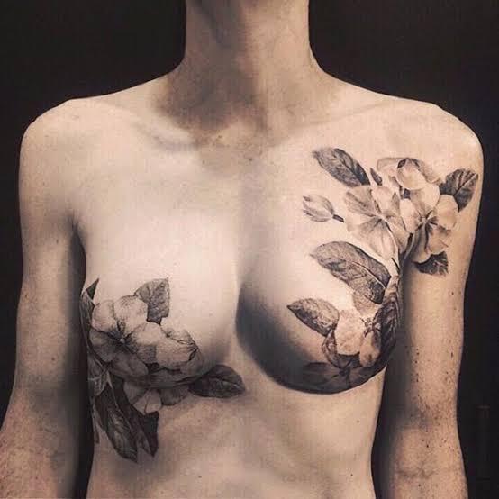 A tatuagem pode melhorar a autoestima da mulher - Crédito: Divulgação