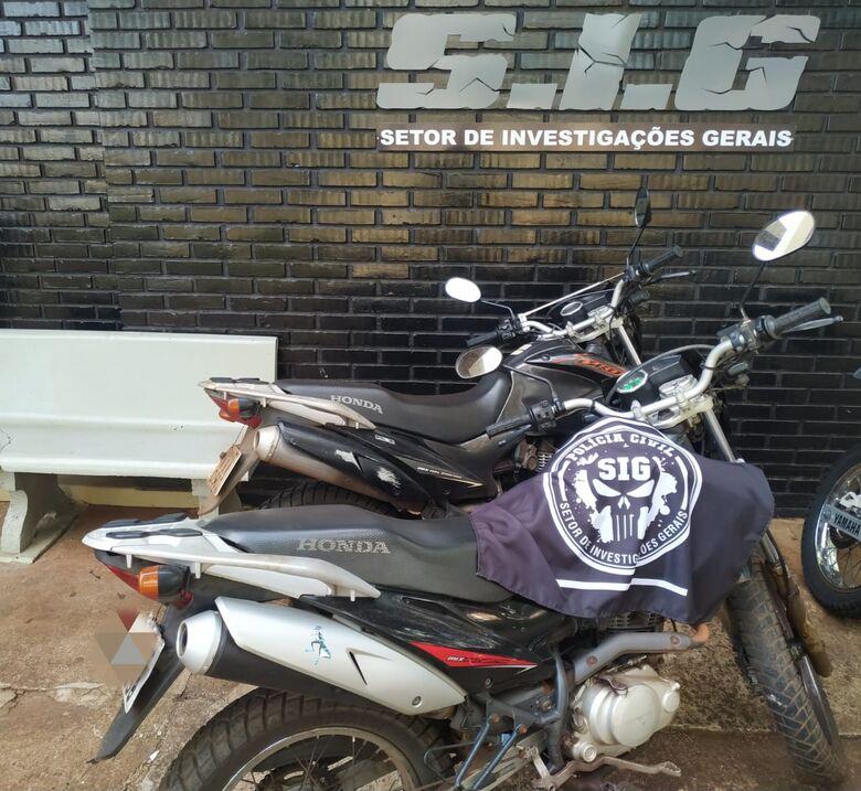 """""""Grupo tinha missão de roubar seis motos em Dourados"""", diz delegado - Crédito: Divulgação/SIG"""