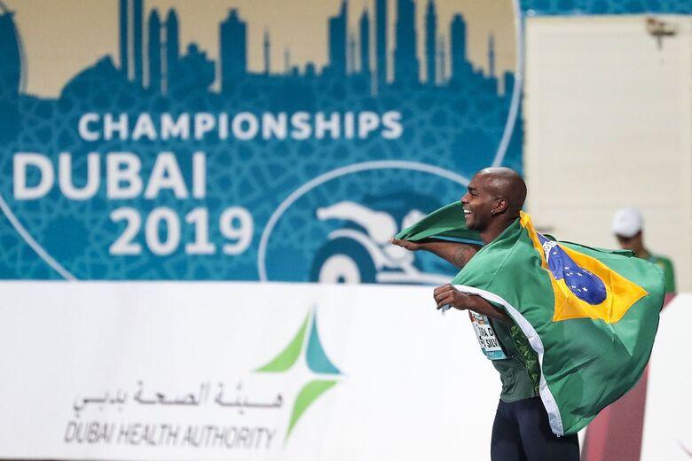 Brasileiros fecham sétimo dia do Mundial de Dubai com oito medalhas - Crédito: ALE CABRAL/CPB