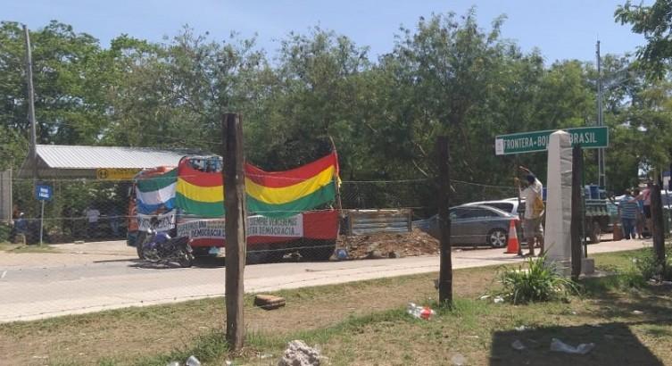 Fronteira entre Brasil e Bolívia, em Corumbá, continua fechada - Crédito: Diário Corumbaense