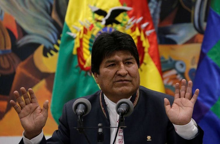 Ex-presidente da Bolívia chega ao México ainda hoje -