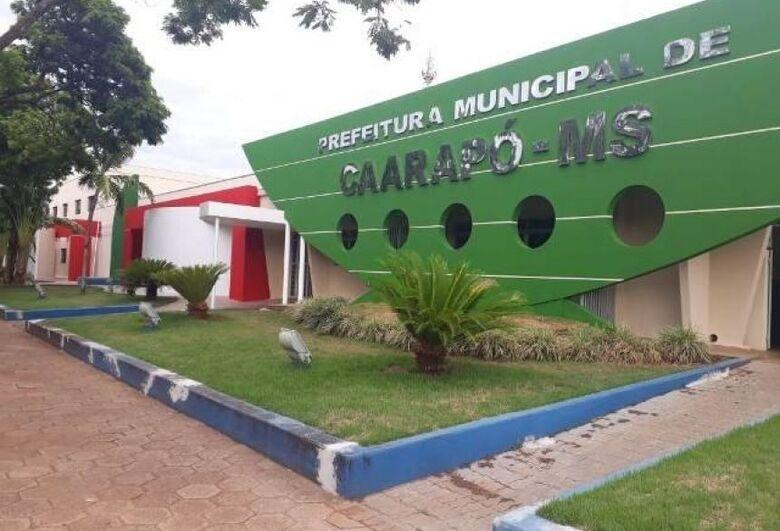 Prefeitura de Caarapó abre 174 vagas -