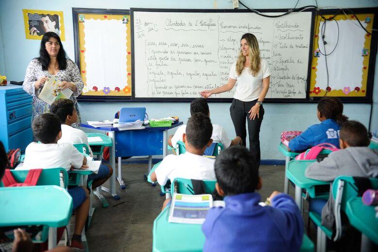 Mais de 95% das crianças brasileiras frequentam escola, diz pesquisa - Crédito: Agência Brasil