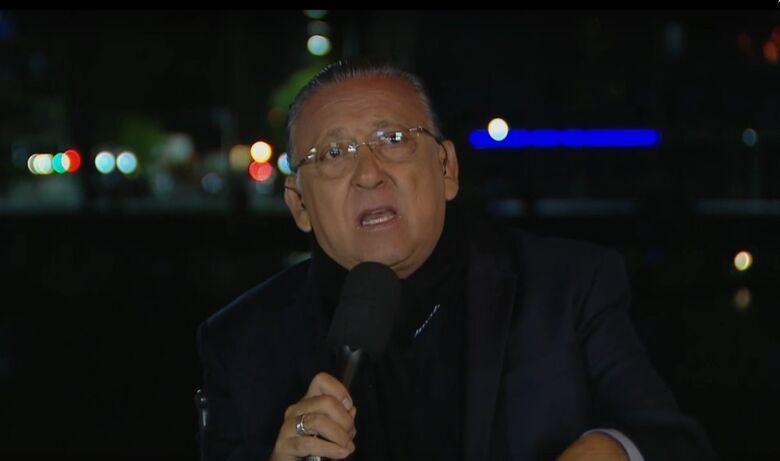Após infarto, Galvão Bueno será substituído em narração da Libertadores - Crédito: Reprodução SporTV