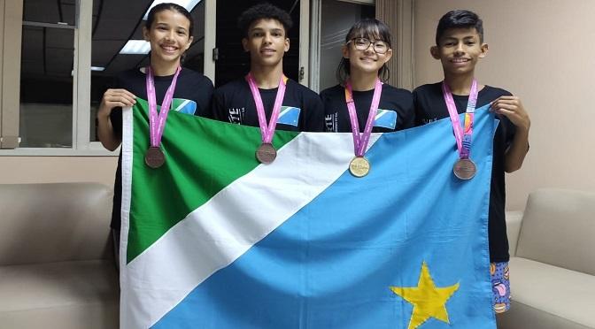MS termina primeiro dia com quatro medalhas no judô - Crédito: Divulgação