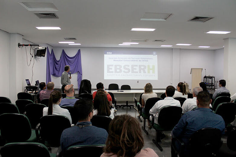 Gestores do HU-UFGD participam de curso sobre prevenção e resolução de conflitos - Crédito: divulgação