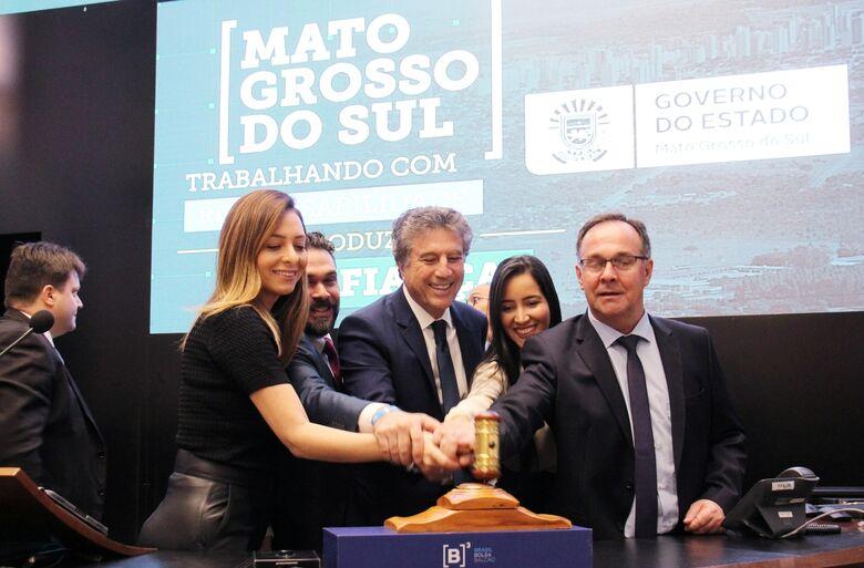 Leilão da MS-306 na Bolsa de Valores de São Paulo - Crédito: Chico Ribeiro