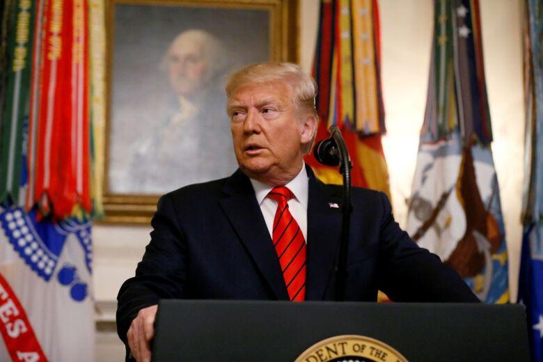 Trump diz que EUA e China estão próximos de acordo - Crédito: JIM BOURG