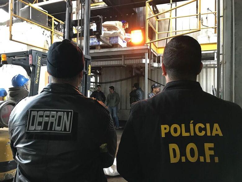 Pela nona vez no ano, Defron incinera toneladas de drogas em Dourados - Crédito: Divulgação/Defron