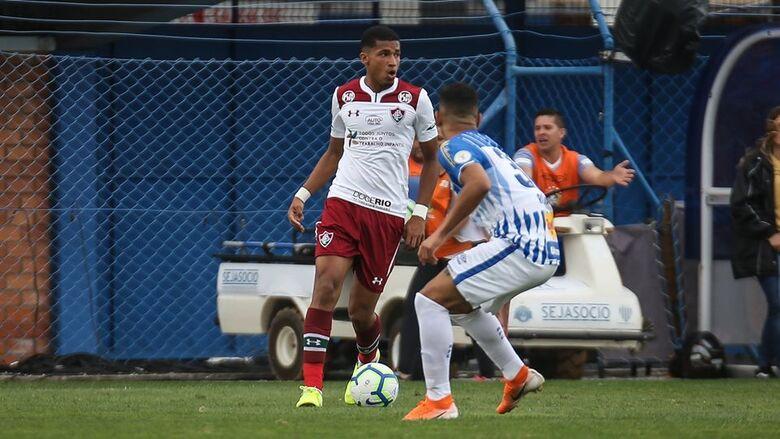 Flumense e Avaí empataram em 1 X 1 - Crédito: Fluminense/Facebook