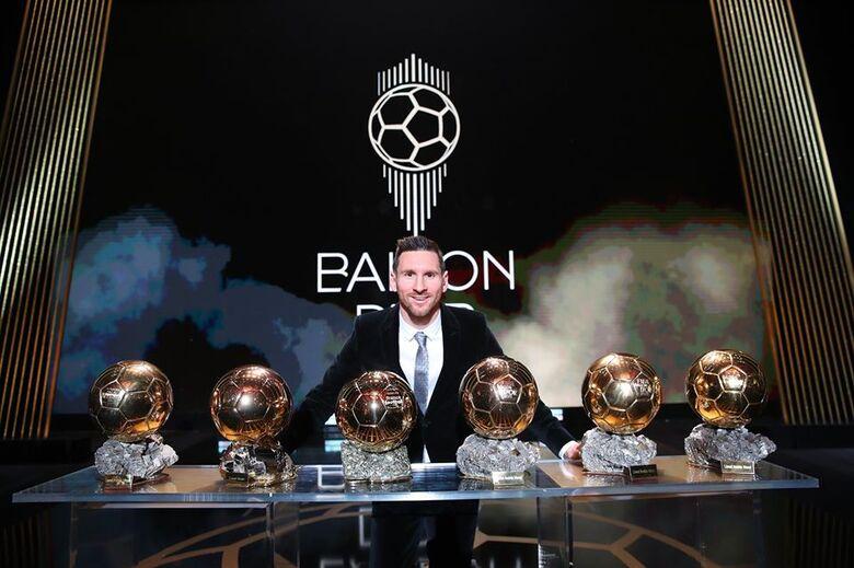 Messi conquista Bola de Ouro pela sexta vez e Alison vence como melhor goleiro - Crédito: Franck Seguin/France Football