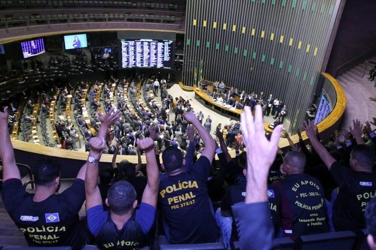 Deputado apresenta PEC para criação de Polícia Penal de MS - Crédito: Câmara Legislativa