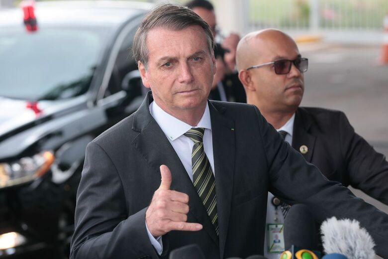 Presidente Jair Bolsonaro - Crédito: Antonio Cruz/Agência Brasil