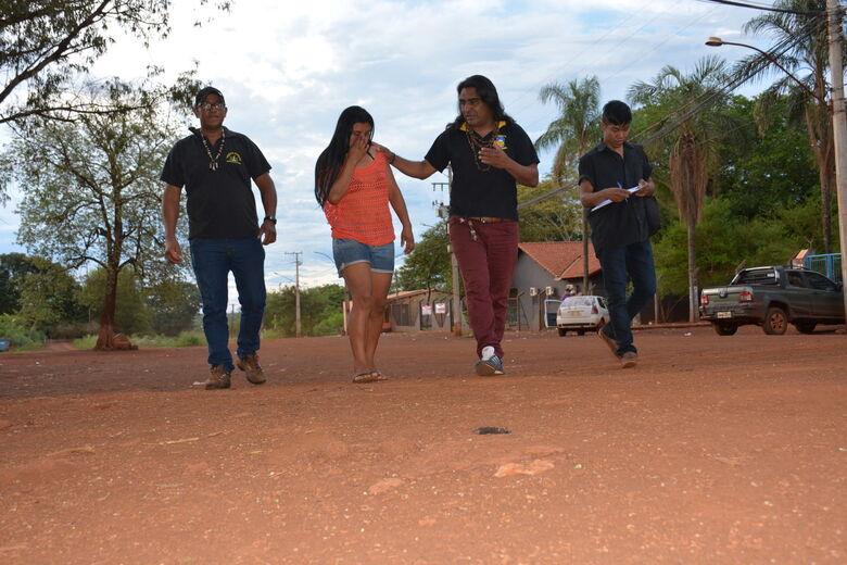 Lideranças indígenas ajudam índia Dorcas a recomeçar a vida - Crédito: Flávio Verão