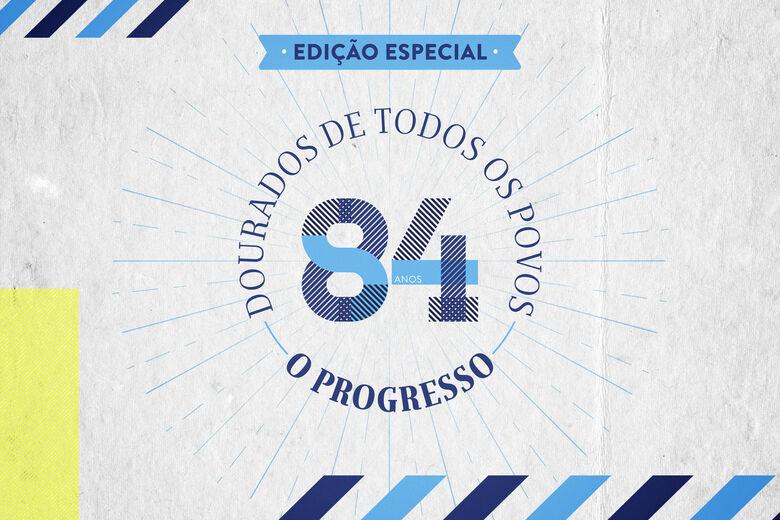 O PROGRESSO lança edição impressa em comemoração ao aniversário de Dourados - Crédito: Pedro Rocha @designstudio.bold