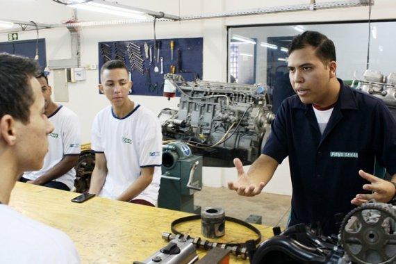 Senai abre 4 mil vagas em 28 cursos técnicos distribuídos por 12 cidades do Estado - Crédito: Divulgação
