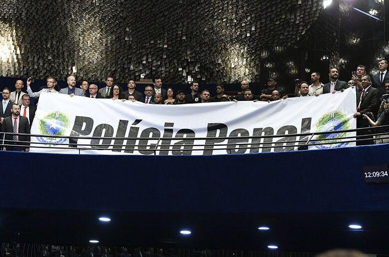 Agentes Penitenciários viram nova Polícia Penal a partir desta quarta-feira - Crédito: Divulgação