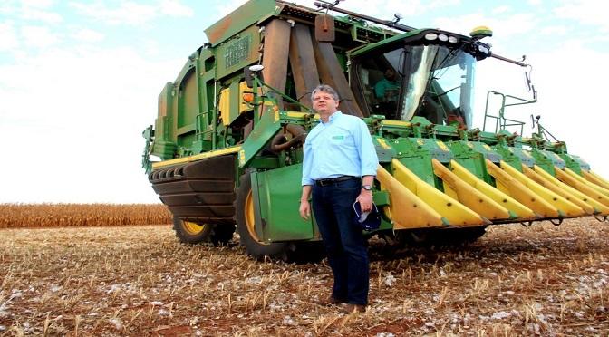 Secretário Jaime Verruck destaca a participação do milho produzido no MS no mercado internacional - Crédito: Divulgação