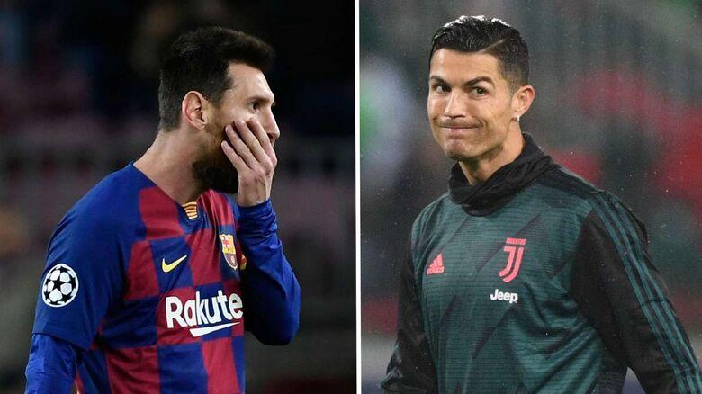 Lionel Messi e Cristiano Ronaldo - Crédito: Divulgação