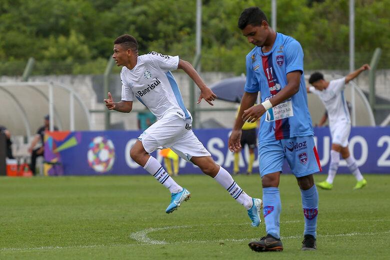 Eliminado para o Grêmio, ABC repete feito do Aquidauanense - Crédito: Guilherme Rodrigues/GR Press
