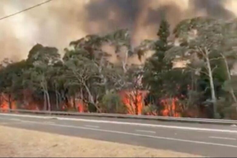 Austrália terá 1,2 bi de euros para recuperar áreas afetadas pelo fogo - Crédito: NSW RURAL FIRE SERVICE