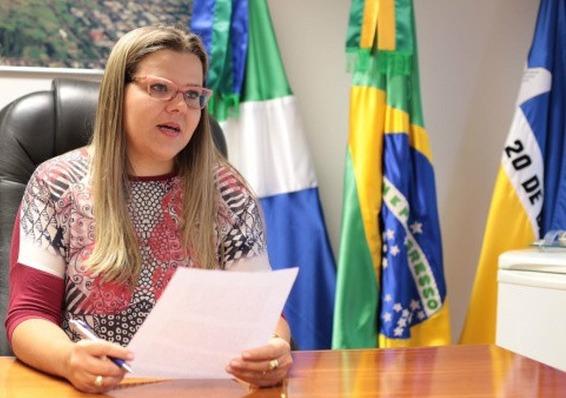 vereadora Daniela Hall (PSD), foi uma das poucas gestoras do Legislativo - Crédito: Divulgação