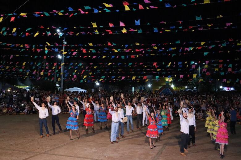 Festa Junina é uma das atrações culturais de Dourados -