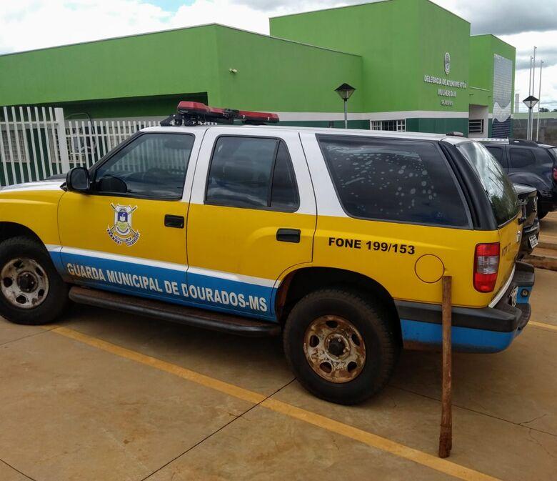 Guarda Municipal atende a ocorrência de violência doméstica - Crédito: divulgação