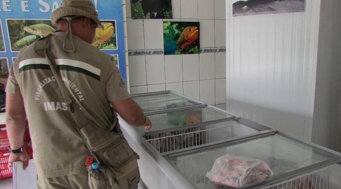 Operação Piracema apreendeu 369 kg de pescado e prendeu 32 pessoas em 2 meses - Crédito: Divulgação